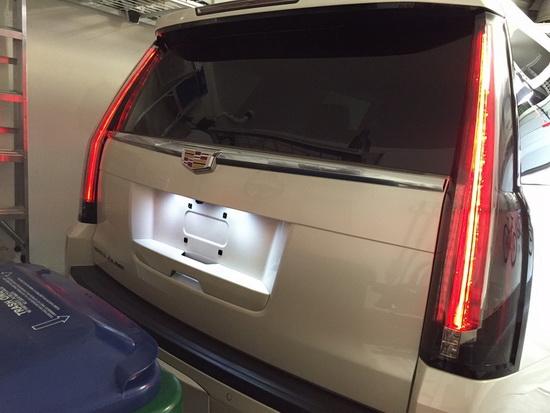 Cadillac Escalade ATS GMC Yukon OEM Replace LED License Plate Lights