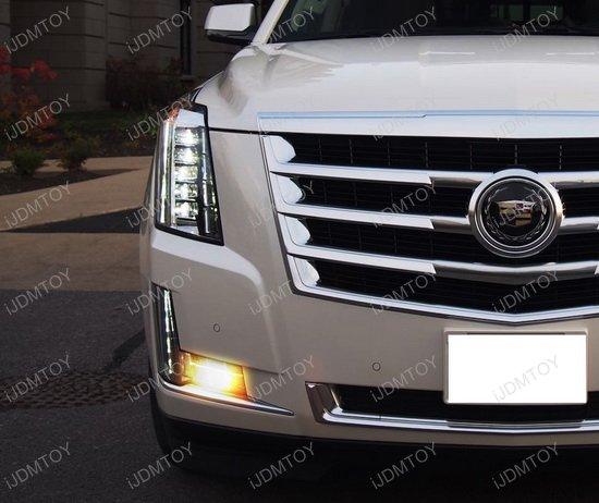 Cadillac Escalade LED Front Turn Signal & LED License ...