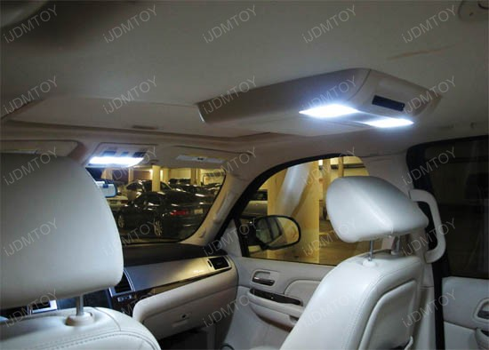 2007-2014 Cadillac Escalade Exact Fit LED Interior Light Package