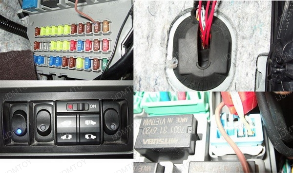 How To Install A Fuse Box In A Car : How to install led strip lights in car interior